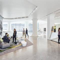 Viviendas colectivas de estilo  por Zaha Hadid Architects