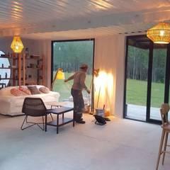 MOVİ evleri – MOVI SHIPPING CONTAINER  HOMES 2 :  tarz Oturma Odası