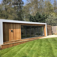 Gym by Modern garden rooms ltd,