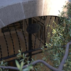Carre de Sol, Palma:  Garden by 4D Studio Architects and Interior Designers
