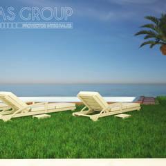 Alberca: Albercas de jardín de estilo  por Zayas Group
