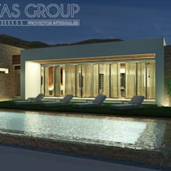 Kolam renang infinity by Zayas Group