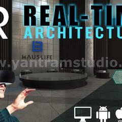 360º Real Estate VR Tour Video Developed by Yantram Virtual Reality Studio, Paris - France:  Country house by Yantram Architectural Design Studio,