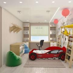 Cuartos para niños de estilo  por студия дизайна Ольги ковалевой