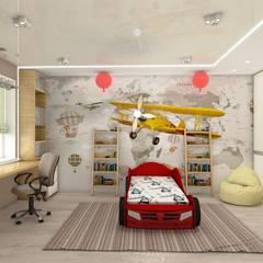Cuarto para niños de estilo  por студия дизайна Ольги ковалевой