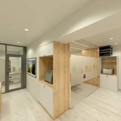 Oficinas y Comercios de estilo  por Bien Estar Architecture