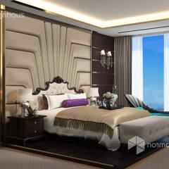bedroom design, interior design malaysia:  Bedroom by Norm designhaus