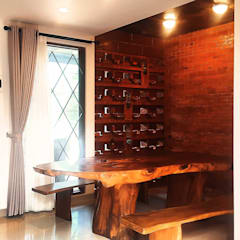 Dining room by Mandalananta Studio