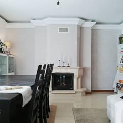 Lareira : Salas de jantar  por YS PROJECT DESIGN