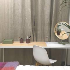 Projekty,  Małe sypialnie zaprojektowane przez nowheresoon