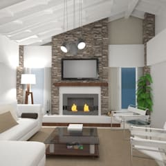 Living room by Arquimundo 3g - Diseño de Interiores - Ciudad de Buenos Aires