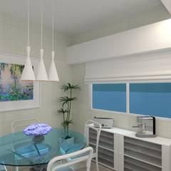 Diseño de interior de Casa El Carmel por 3G Arquimundo: Muebles de cocinas de estilo  por Arquimundo 3g - Diseño de Interiores - Ciudad de Buenos Aires