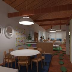 Escuelas de estilo  por Arquimundo 3g - Diseño de Interiores - Ciudad de Buenos Aires
