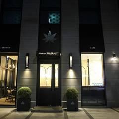 Out-side Entrance: 피투엔디자인  _____  p to n design의  호텔