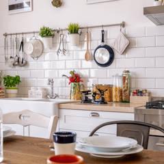 Dèpenance AN: Cucina in stile  di ABBW angelobruno building workshop