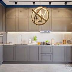 Кухня в скандинавском стиле: Кухни в . Автор – Мак Дизайн