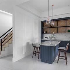 غرفة السفرة تنفيذ 禾廊室內設計
