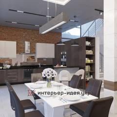 Проекты частных интерьеров:  Їдальня by Интерьер-Идея