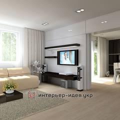 Проекты частных интерьеров:  Вітальня by Интерьер-Идея