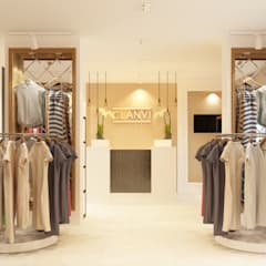 Espacios comerciales de estilo  por ReDi