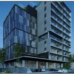 Torre Mutuo: Condominios de estilo  por ABA Depot