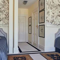 Apartament holenderski: styl , w kategorii Sypialnia zaprojektowany przez INNA - Manufaktura Wnętrz