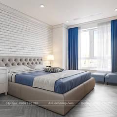 Interior design apartment HD Mon City Hai Dang, Hanoi, Vietnam:  Phòng ngủ by Nội Thất An Lộc