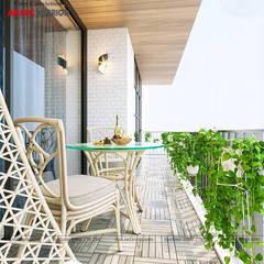 балконы в . Автор – Nội Thất An Lộc