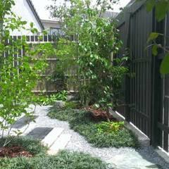 ㈱清武建設一級建築士事務所にて庭園の設計及び施工致します。: Home Plan Kiyotake 一級建築士事務所 ㈱清武建設  が手掛けた枯山水です。