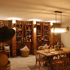 Wine cellar by John McKenzie Architecture