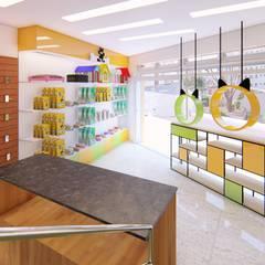 Vitrine: Lojas e imóveis comerciais  por TRAIT ARQUITETURA E DESIGN