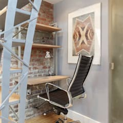 Vip Dekorasyon – Metruk Bir Depoyu Restose Ederek Çalışma Ofisi Haline Getirmek:  tarz Çalışma Odası
