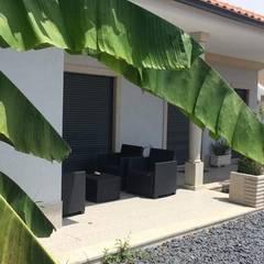 OVAR - JARDIM A&T: Jardins  por Jardins e Exteriores - Arthur Pereira - Arqto. Paisagista