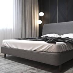 Mieszkanie z elementami klasyki: styl , w kategorii Sypialnia zaprojektowany przez Ambience. Interior Design