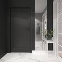 Mieszkanie z elementami klasyki: styl , w kategorii Korytarz, przedpokój zaprojektowany przez Ambience. Interior Design