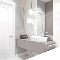 Mieszkanie z elementami klasyki: styl , w kategorii Łazienka zaprojektowany przez Ambience. Interior Design