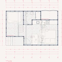 Passive house by UNOAUNO arquitectura sustentable, Minimalist Wood Wood effect