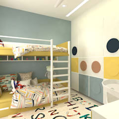 Projekty,  Małe sypialnie zaprojektowane przez DesignTechSolutions