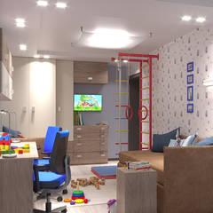 Habitaciones de niños de estilo  de ИнтеРИВ