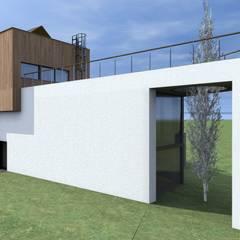 Villas by Budownictwo i Architektura Marcin Sieradzki - BIAMS, Industrial Reinforced concrete
