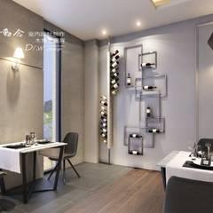 ร้านอาหาร by 木博士團隊/動念室內設計制作