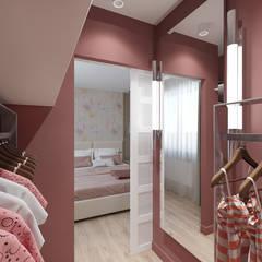 Квартира в ЖК «Оазис»: Гардеробные в . Автор – ReDi