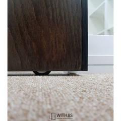 AL-WOOD SD, 무늬목도어: WITHJIS(위드지스)의  회사,모던 우드 우드 그레인