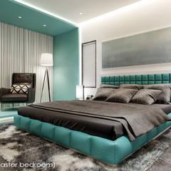 Mr Aditya Residency :  Bedroom by Raj Creation,Modern