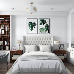 Bedroom by Наталья Преображенская | Студия 'Уютная Квартира'