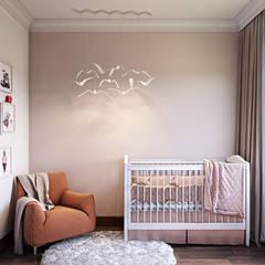 Винный дом: Детские комнаты в . Автор – Наталья Преображенская | Студия 'Уютная Квартира'