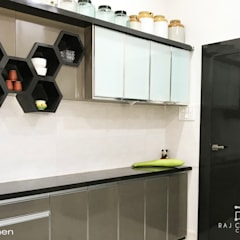 Asian style kitchen by Raj Creation Asian