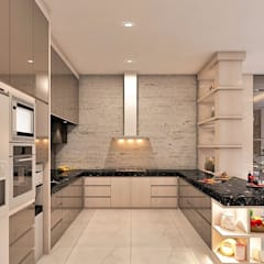 M House CEMARA KUTA: Dapur oleh Lighthouse Architect Indonesia, Modern