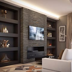 Living room by Lighthouse Architect Indonesia