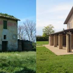 Prima e dopo.: Case in stile  di Studio tecnico Salvetti